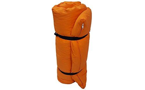 Futon Portatile Orancione, 200x140x4 cm