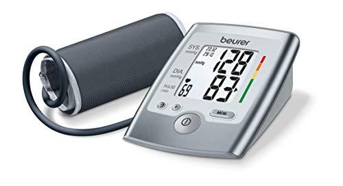 Beurer BM 35 Misuratore di Pressione da Braccio con Funzione Memoria e Rilevazione Aritmie