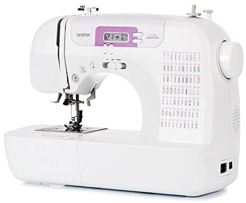 Brother CX70PE (Patchwork Edition) - Macchina da cucire elettronica con 70 punti di cucito (utili, elastici, ornamentali), cucitura Automatica, display multifunzione