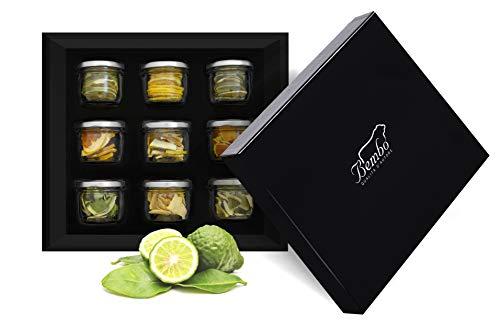 Crea il tuo Gin Bembo - Botaniche Gin Tonic - Agrumi - Spezie, Agrumi e Aromi per Cocktail - Idea regalo per appassionati