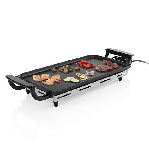 Princess 01.102209.01.500 Economy 102209 - Barbecue da tavolo con griglia Teppanyaki, 43 x 23 cm, 1800 Watt, colore: Nero
