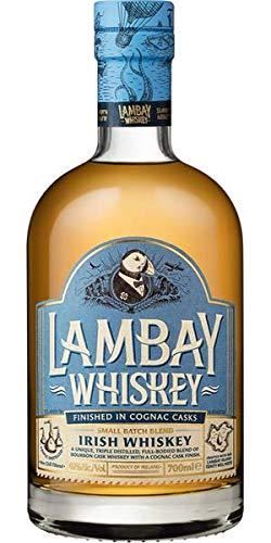 WHISKEY LAMBAY COGNAC CASK FINISHED BLEND 40° - 1 bottiglia 0,7 L in astuccio cartonato