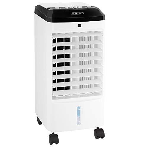 Monzana Condizionatore Portatile MZ401 3in1 Serbatoio Umidificatore Ventilatore Climatizzatore Ionizzatore Refrigeratore