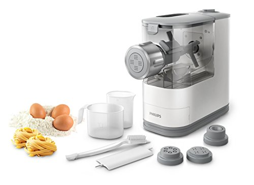 Philips HR2345/19 Pastamaker, 150 W, Plastic, Bianco