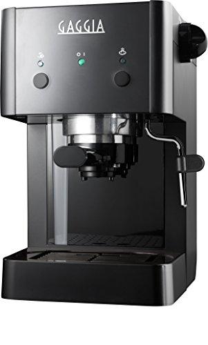 Gaggia RI8423/12 - Macchina da Caffè Espresso Manuale, 1025 W, 1L, Nero