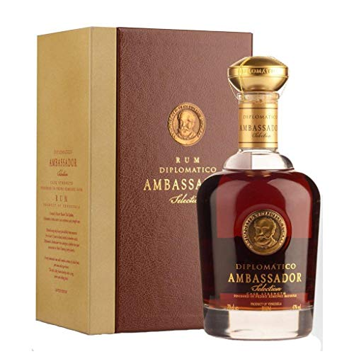 DIPLOMATICO RUM AMBASSADOR SELECTION 70 CL IN ASTUCCIO LIMITED EDITION