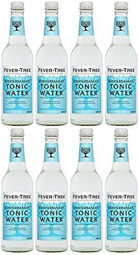 Fever-Tree Mediterranean Tonic Water 4x200 ml (Pack of 6, 24 bottles)