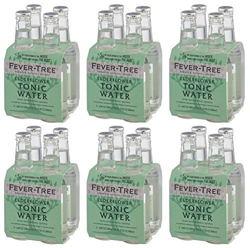 Fever Tree Elderflower Tonic Water 200ml x 24