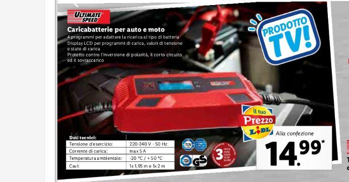 caricabatteria auto Lidl