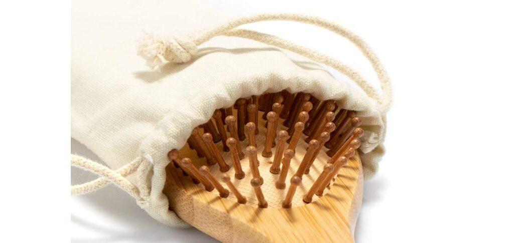 Spazzola per Capelli Naturale in bambù