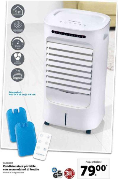 climatizzatore portatile Lidl
