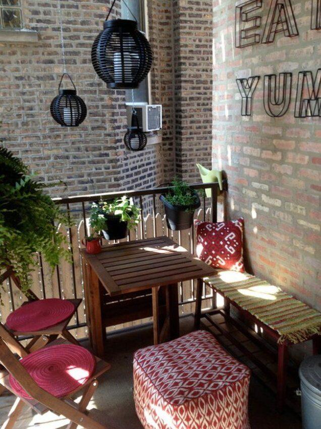 Tavolino da ringhiera Lidl: da appendere al balcone, salvaspazio e pieghevole 3